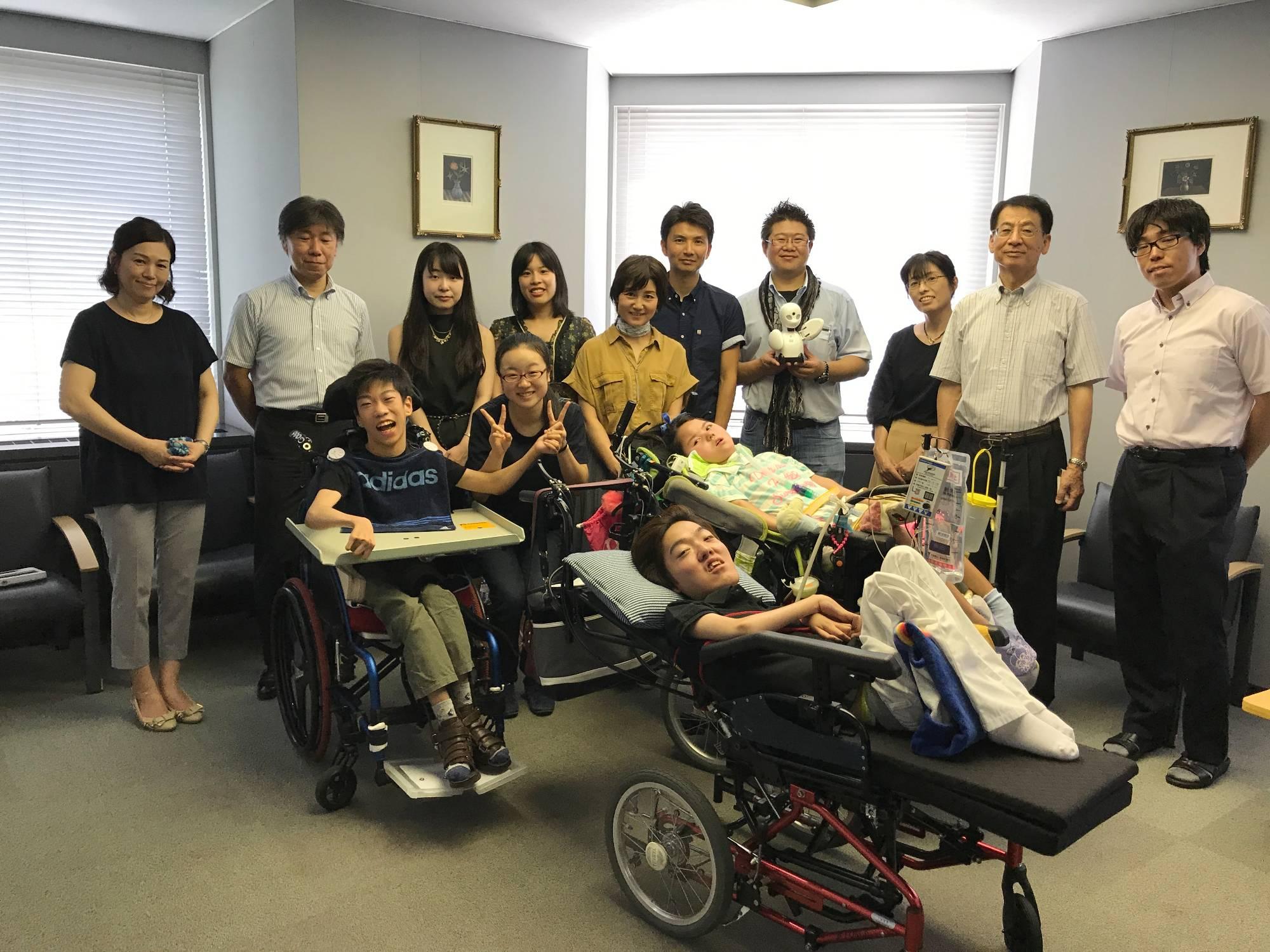 障がい者ICT支援サークル「YELLTECH」with 椙山女学園大学